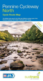 Fietskaart Pennine Cycleway North Cycle Map | Sustrans | 1:110.000 | ISBN 9781910845356