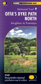 Wandelkaart Offa's Dyke Path North | Harvey | 1:40.000 | ISBN 9781851375097