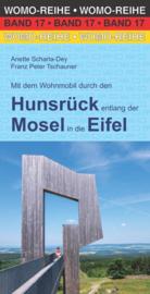 Campergids WOMO Verlag | Mit dem Wohnmobil durch den Hunsrück entlang der Mosel in die Eifel | ISBN 9783869031743