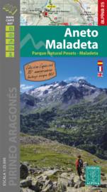 Wandelkaart Aneto - Maladeta | Editorial Alpina | 1:25.000 | ISBN 9788480908610