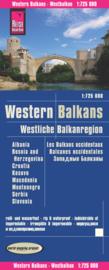 Wegenkaart Westelijke Balkan - Westliche Balkanregion | 1:725.000 | Reise Know-How Verlag | ISBN 9783831773107