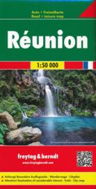 Wandelkaart - Wegenkaart La Reunion | Freytag & Berndt | 1:50.000 | ISBN 9783707916850