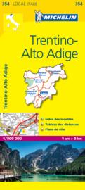 Wegenkaart - Fietskaart Südtirol - Trentino | Michelin 354 | 1:200.000 | ISBN 9782067127166