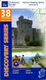Wandelkaart Ordnance Survey / Discovery series | Galway / Mayo 38 | ISBN 9781908852304