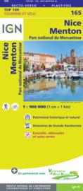 Wegenkaart - fietskaart Nice - Menton | IGN 165 | ISBN 9782758547747