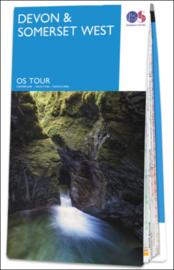 Fietskaart - Wegenkaart Devon-Somerset nr. 05 | Ordnance Survey | 1:100.000 | ISBN 9780319263679