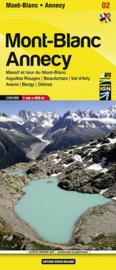 Wandelkaart Mont Blanc regio | Didier Richard | 1:60.000 | ISBN 9782344008041