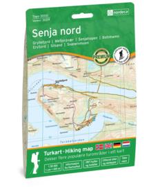 Wandelkaart Senja Noord 3029 | Nordeca | 1:50.000 | ISBN 7046660030295