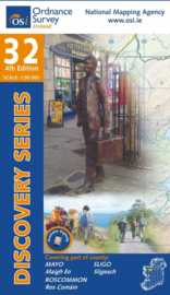 Wandelkaart Ordnance Survey / Discovery series | Mayo /Roscommon / Sligo 32 | ISBN 9781908852700