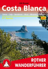 Wandelgids Costa Blanca | Rother Verlag | Denia – Calpe – Benidorm – Alcoy – Alicante – Torrevieja | ISBN 9783763343270