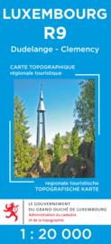 Wandelkaart Dudelange / Clemency | Topografische dienst Luxembourg 09 | ISBN 5425013060455