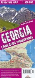 Wegenkaart - Wandelkaart Georgië - Kaukasus - Caucasus | Terraquest | ISBN 9788361155683