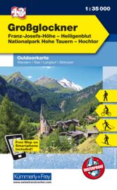 Wandelkaart Grossglockner | Kümmerly & Frey | 1:35.000 | ISBN 9783259007228