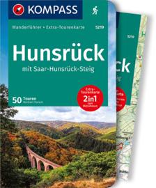Wandelgids Hunsrück mit Saar Hunsrück Steig | Kompass 5219 | ISBN 9783991210337