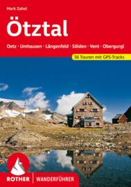 Wandelgids Ötztal : Ötztaler Alpen - Stubaier Alpen | Rother Verlag | ISBN 9783763344611