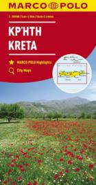 Wegenkaart Kreta | Marco Polo | 1:150.000| ISBN 978382973726