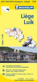 Wegen- en Fietskaart Luik - Liége | Michelin 376 | 1:150.000 | ISBN 9782067185333