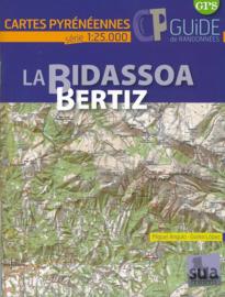 Wandelkaart Bidassoa - Beritzu | SUA | Westelijke Pyreneeën | 1:25.000 | ISBN 9788482166025