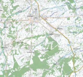Fietskaart  Brabant & Namen   Alta Via 6   1: 75.000   ISBN 9789082714432