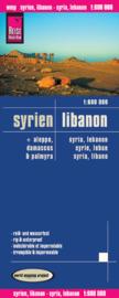 Wegenkaart Syrien & Lebanon   Reise Know How   1:600.000   ISBN 9783831771257