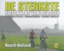 Fietskaart De sterkste fietskaart van de regio : Noord Holland | Buijten & Schipperheijn | 1:50.000 | ISBN 9789058817211