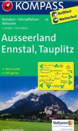Wandelkaart Ausseerland, Ennstal | Kompass 68 | 1:50.000 | ISBN 9783850264365