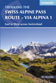 Wandelgids The Swiss Alpine Pass Route - Via Alpina Route 1 | Cicerone | ISBN 9781852849276