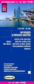 Wegenkaart Verenigde Arabische Emiraten, Dubai, Abu Dhabi | Reise Know How | 1:470.000 / 1:80.000 | ISBN 9783831772711