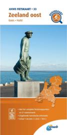 Fietskaart  Zeeland Oost | ANWB 33 |  1:66.666 | ISBN 9789018047344