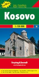 Wegenkaart Kosovo | Freytag & Berndt | 1:150.000 | ISBN 9783707912791