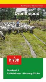 Wandelgids Drenthepad |  LAW - NIVON -  Streekpad 6 | ISBN 9789491142130