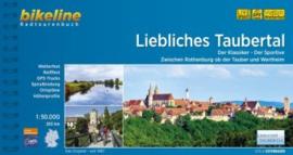 Fietsgids Liebliches Taubertal - 260 km | Bikeline | ISBN 9783850008112