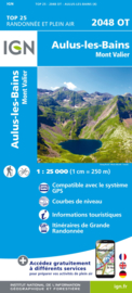Wandelkaart Aulus-les-Bains, Salau, Guzet-Neige | Pyreneeën | IGN 2048OT - IGN 2048 OT