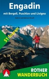 Wandelgids Engadin mit Bergell / Livigno | Rother Verlag | Wandelgids Engadin | ISBN 9783763330430