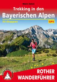 Wandelgids Trekking in den Bayerischen Alpen   Rother Verlag   ISBN 9783763345342