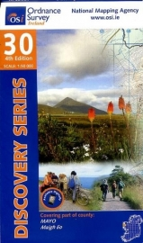 Wandelkaart Ordnance Survey / Discovery series | Mayo W Cent 30 | ISBN 9781908852595