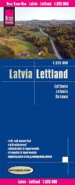 Wegenkaart Letland - Latvia | Reise Know How | 1:325.000 | ISBN 9783831773787
