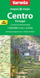 Autokaart-Fietskaart Portugal Centrum | Turinta nr. 2 | 1:250.000 | ISBN 9789895561124