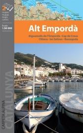 Wandelkaart Alt Emporda | Editorial Alpina | 1:50.000 | ISBN 9788480905053