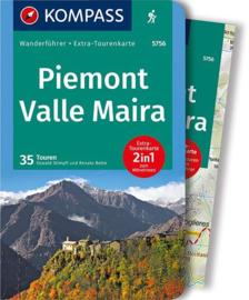 Wandelgids Piemonte - Valle Maira| Kompass | ISBN 9783990442241