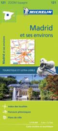 Wegenkaart  Madrid en omgeving | Michelin 121 | ISBN 9782067219618