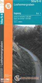 Topografische kaart Belgie NGI 50a / 5-6  Losheimergraben | 1:25.000 - ISBN 9789462352346