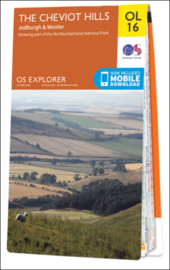 Wandelkaart The Cheviot Hills | Explorer Maps OL16 | Ordnance Survey | 1:25.000 |  ISBN 9780319242551