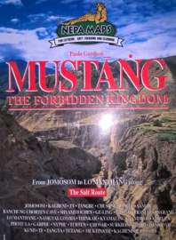 Wandelkaart Mustang - The Forbidden Kingdom | Nepa Maps | 1:125.000 | 9799993323135