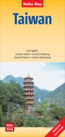 Wegenkaart Taiwan | Nelles | 1:400.000 | ISBN 9783865746917