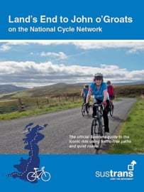 Fietsgids The End to End Cycle route | Sustrans | Fietsen van Land`s End naar John O`Groats - 1550 km. | ISBN 9781910845295