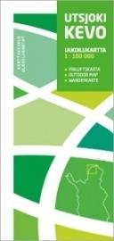 Wandelkaart  Utsjoki-Kevo NP | Karttakeskus - Genimap | 1:100.000 | ISBN 9789515932235