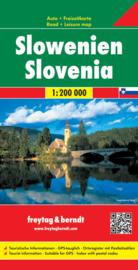 Wegenkaart Slovenië -  Slowenien   Freytag & Berndt   1:200.000   ISBN 9783707904741