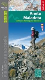 Wandelkaart Aneto - Maladeta | Editorial Alpina | 1:25.000 | ISBN 9788480905718