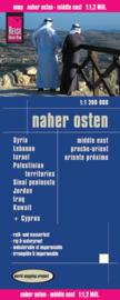 Wegenkaart  Midden Oosten - Naher Osten | Reise Know How | 1:1,2 miljoen | ISBN 9783831772407